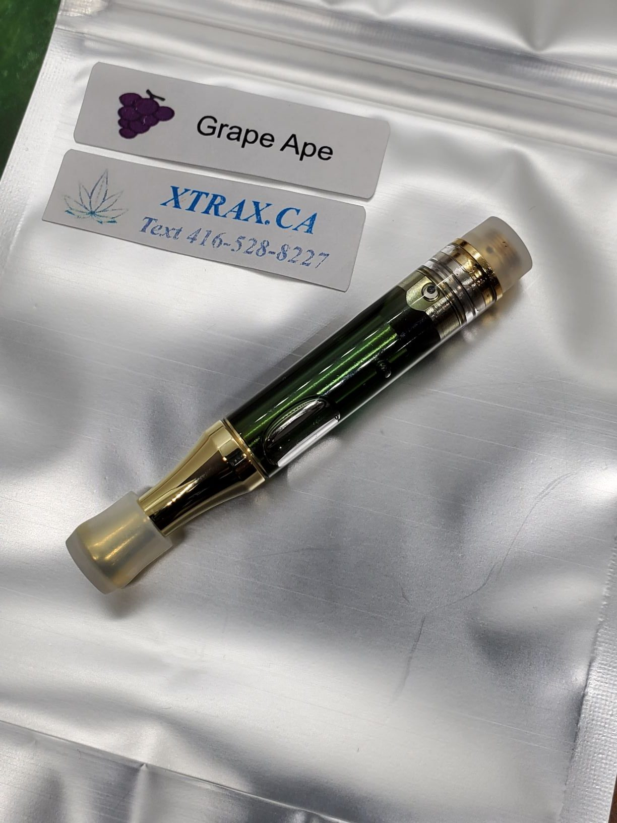 Grape Ape XTRAX Elite Vape Oils Collection Distillates 1000mg