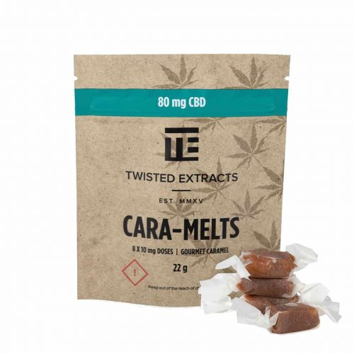Twisted Extracts – Caramelts CBD