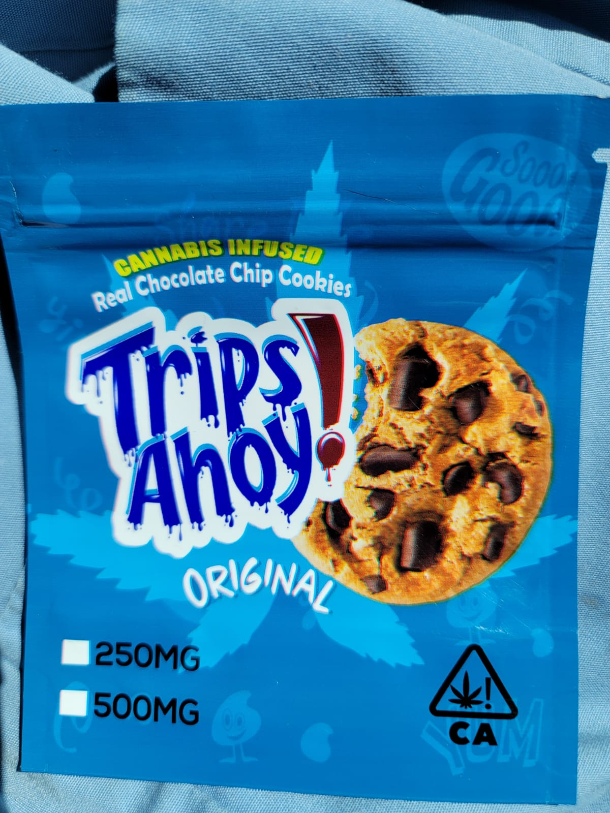 Trips Ahoy-Chocolate Chip Cookies
